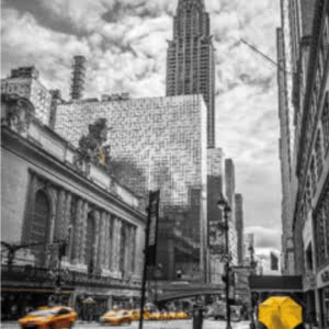 NYC Grand Central Liquid Wall Art