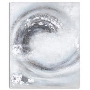 Sienna Silver & Grey Canvas