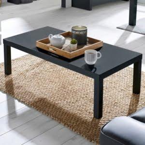 Perla Charcoal Gloss Coffee Table