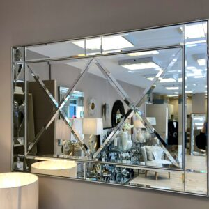 Boston Silver Wall Mirror