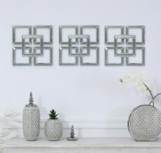 Geometric Mirror Wall Art No5a Interiors