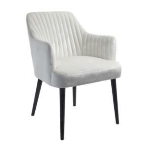 Oyster Velvet Chair