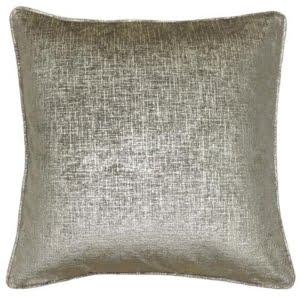 Sicily Dust Gold Feather Cushion