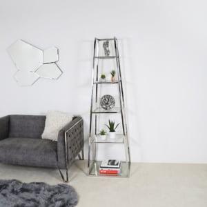 Ladder Display Glass Unit