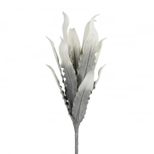 Faux Grey Gladiola Leaves
