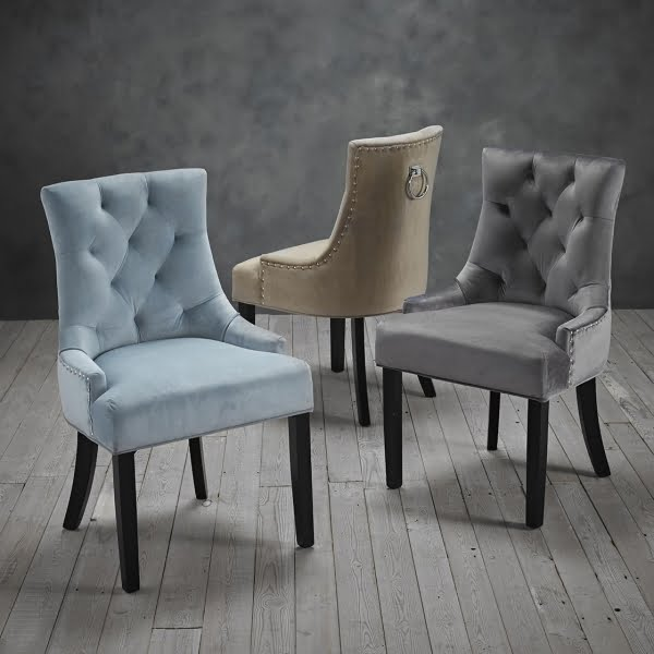 Mila Set of Two Chairs Three Colours