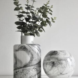 Carly Marble Effect Vase