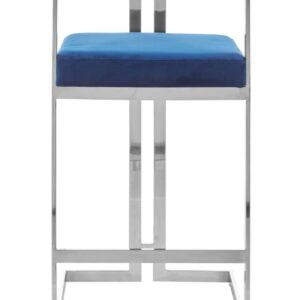 Veneto Blue Bar Stool
