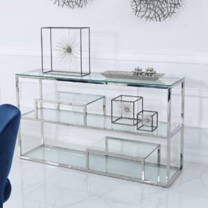 Elias Tiered Console Table
