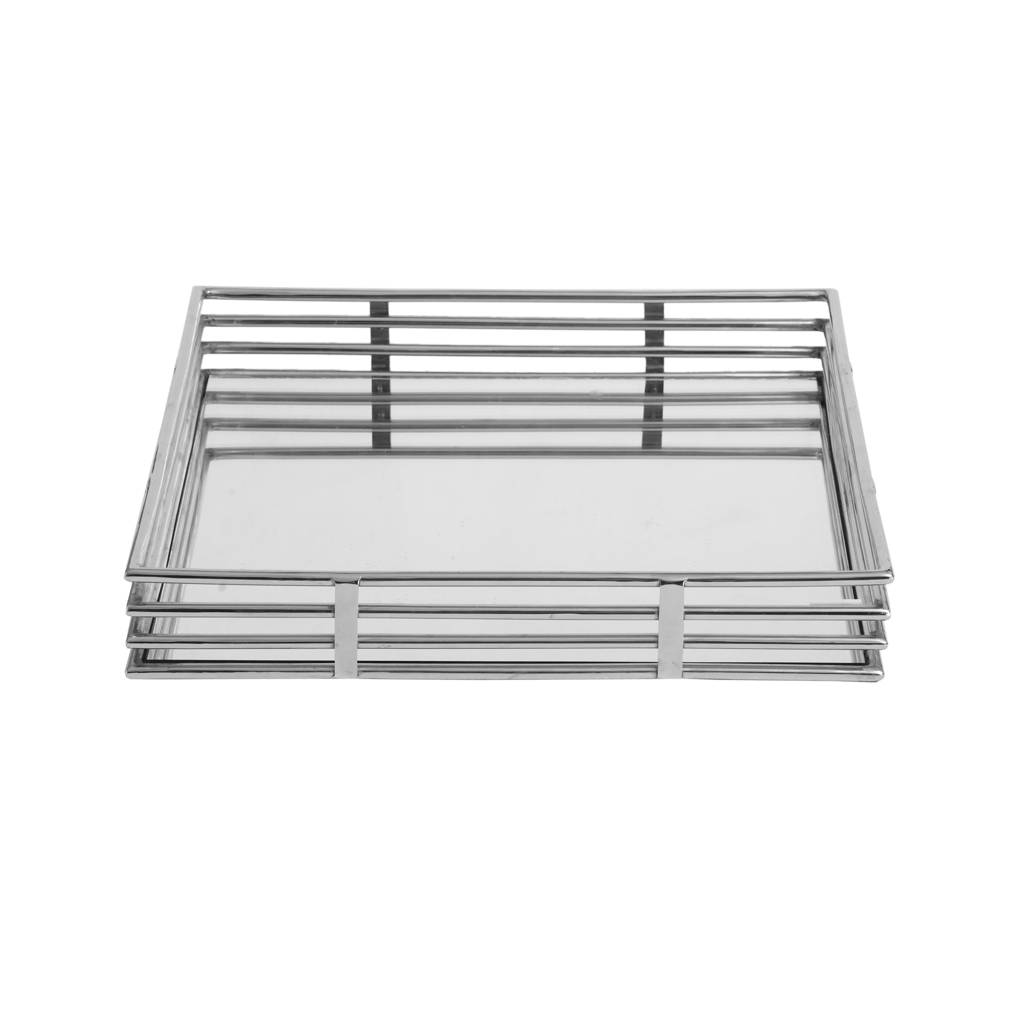 Exton Chrome and Mirror Tray