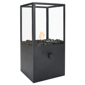 Cosi Tall Black Fire Lantern