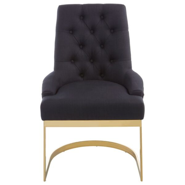 Dahlia Black Dining Chair
