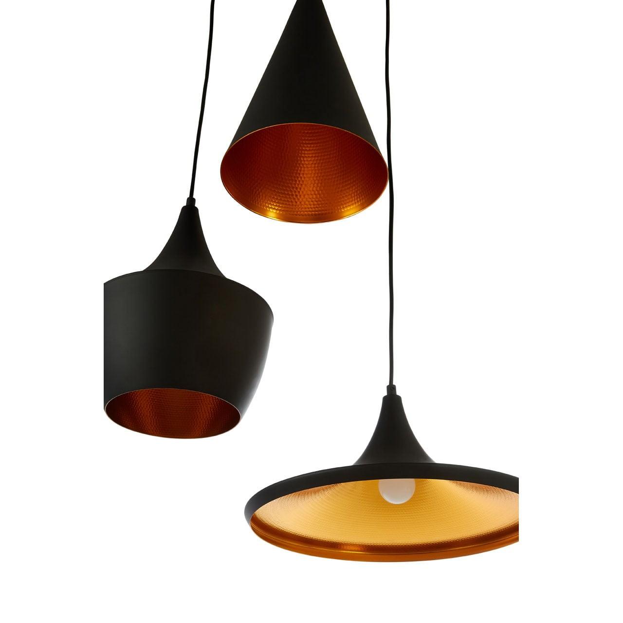 Malik Black Pendant Light
