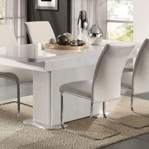 Verona White Extending Table