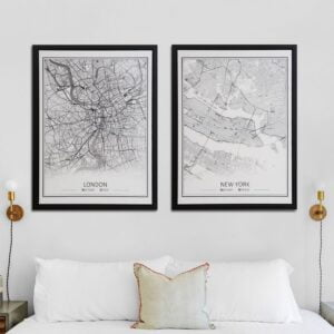 London & New York Canvases