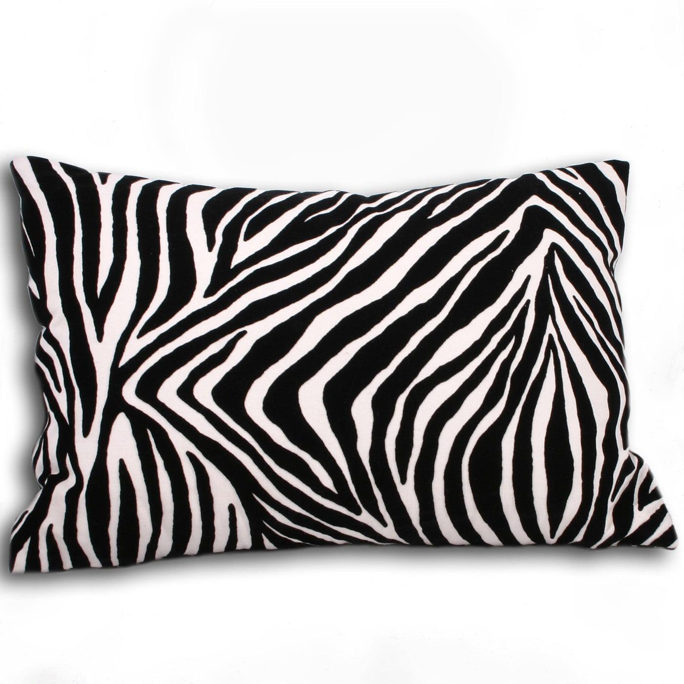 Sylvie Stripe Zebra Cushion