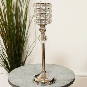Diamante Crystal Candle Holder