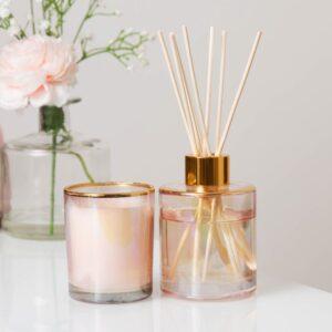 Estella Lily Blossom Candle & Diffuser