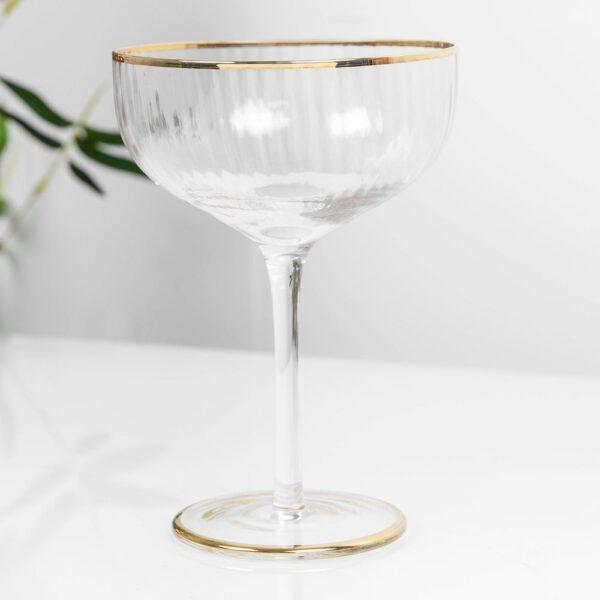 Estella Set of Two Champagne Glasses