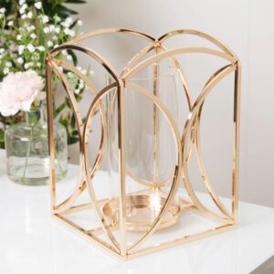 Estelle Gold Candle Holder