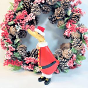 Festive Santa Duckling