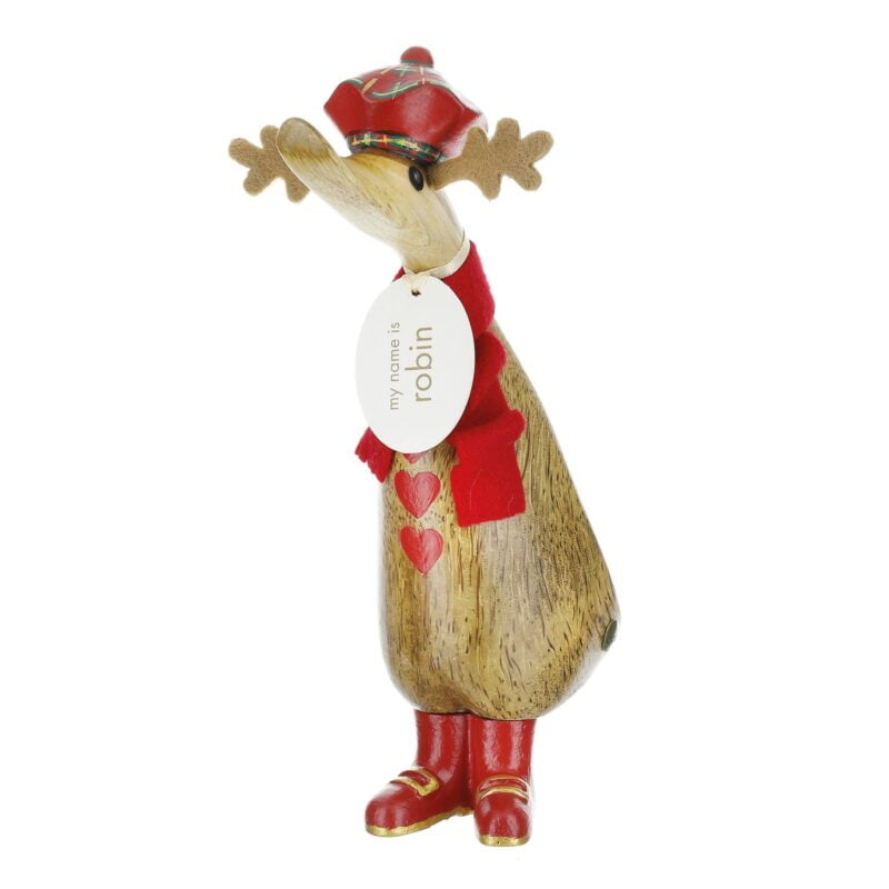 Festive Reindeer Duckling