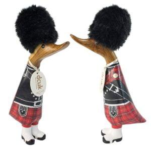 Festive Scots Guard Duckling