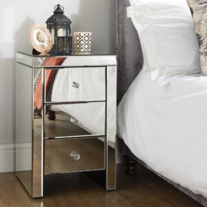 Minorca Three Drawer Bedside