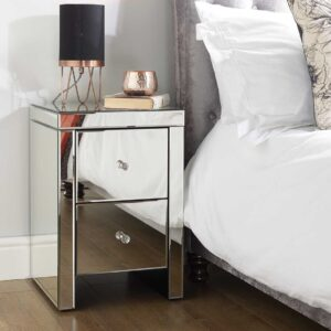 Minorca Two Drawer Bedside