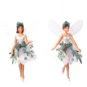 White Eucalyptus Fairy Tree Decoration
