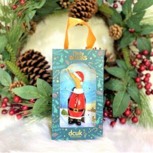 Dinky Duck Red Santa