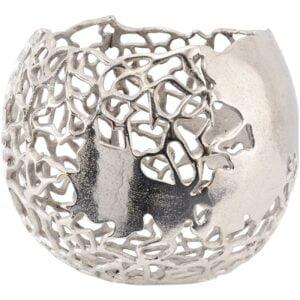 Coral Spherical Vase