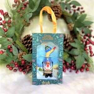 Dinky Duck Blue Festive Jumper