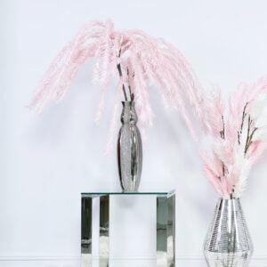 Faux Pink Fish Tail Fern