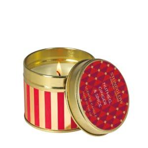 Nutmeg, Ginger & Spice Candle Tin