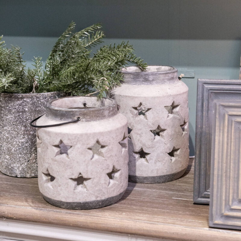 Stone Star Lantern - Two Sizes!