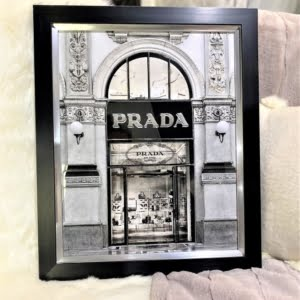 Prada Style Black Frame