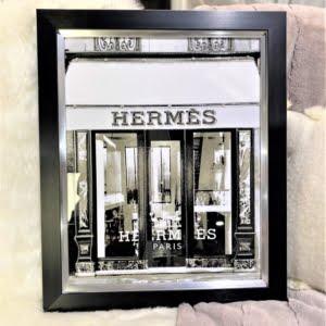 Hermes Style Black Frame