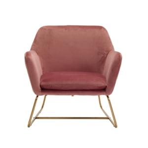 Clara Pink Ocasional Armchair