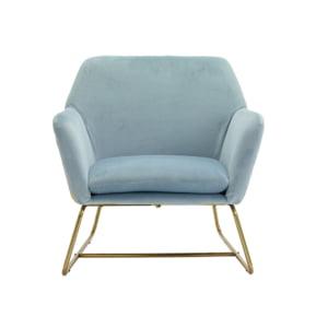 Clara Sky Blue Occasional Armchair