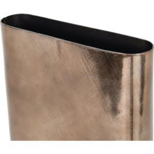 Emilia Smoky Aluminium Vase