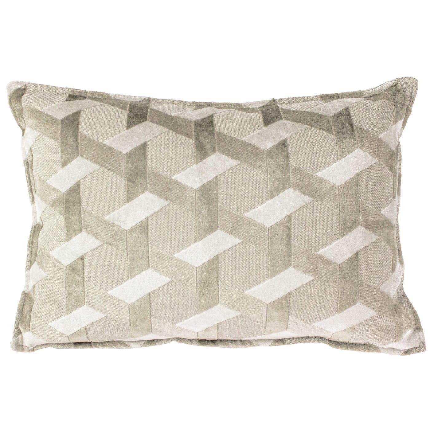 Delano Ivory & Taupe Cushion