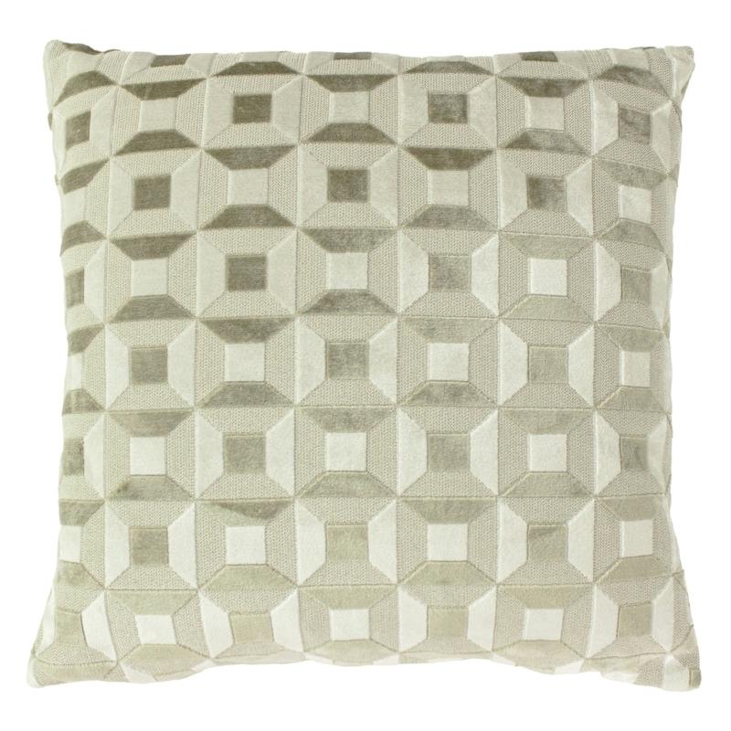 Empire Ivory & Taupe Cushion