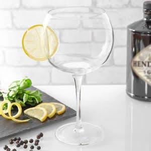 Copa Lemon Clear Glass