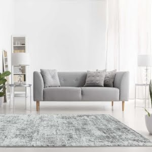 Orion Abstract Silver OR05 Rug