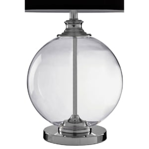 Signature Faith Glass Ball Lamp