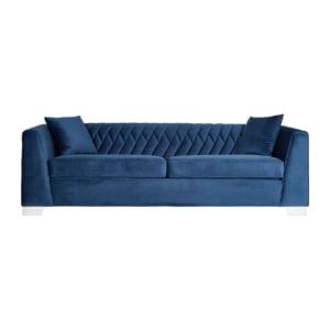 Signature Rhapsody Blue Three Seater Sofa