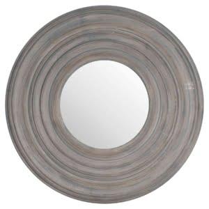 Honor Grey Textured Mirror