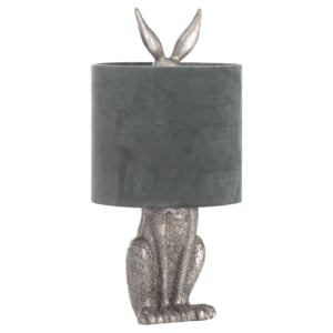 Honor Silver Hare Table Lamp