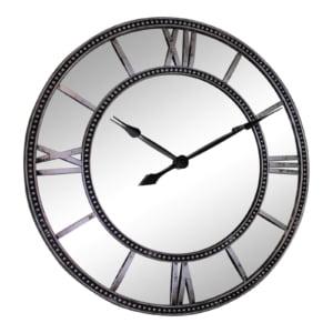Hampton Mirrored Wall Clock